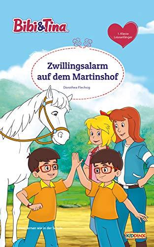 Bibi & Tina - Zwillingsalarm auf dem Martinshof: Erstlesebuch