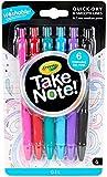 Crayola 58-6505 bolígrafo de gel Negro, Azul, Verde, Rosa, Rojo,...