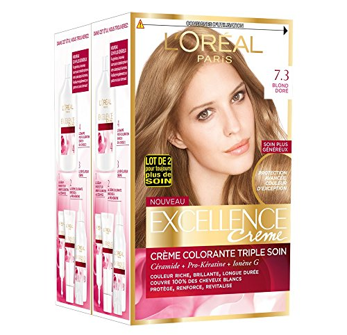 L 'Oréal Paris Excellence Coloration 3-fach Pflege