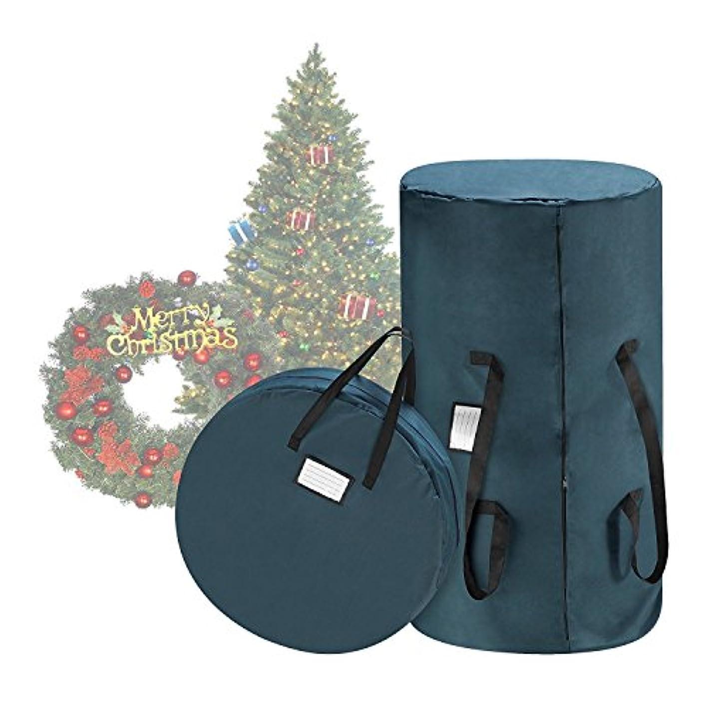 Tiny Tim Totes 83-DT5530 Premium Green Canvas Christmas 9 Foot Tree Storage 30