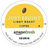 AmazonFresh 80 Ct. K-Cups, Just Bright Light Roast, Keurig K-Cup Brewer Compatible