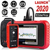 LAUNCH OBD2 Scanner CRP129E Scan Tool Code Reader for Engine/ABS/SRS/Transmission Systems with Oil lamp/EPB/SAS/TPMS/TPS Reset,Auto VIN,Free Update + TPMS Tool EL-50448,Advanced Version of CRP129