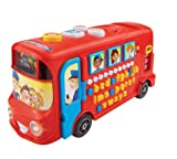 Vtech 150003 Playtime Bus Educational Playset, Learning Toy With Phonic Sounds, Letters, Vocabulary