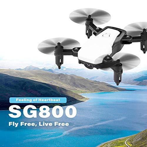 Kedelak Altimetro SG800 Mini 2.4G Pieghevole Drone Altitude Hold One Ritorno a Chiave modalità Headless RC Quadricottero per la Replacement Formazione Regalo di Natale