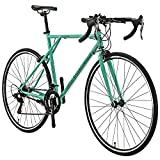 YH-XC560 Classic 700C Road Bike XL 56CM Frame 21 Speed Aluminum Rims Bicycle Commuter Bikes for Mens (Celeste Green)