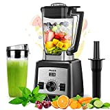 Arcbt Professional Countertop Blender for Smoothies, with 1450W Pulse & 9 Speeds Control Base, 72oz BPA Free Self Cleaning Jar, 32000RPM Household High Powered Blenders to Blend, Chop, Grind, Black