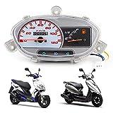 Gancon Scooters de Motocicleta de 72 V, velocímetro, tacómetro, medidor de ABS, Apto para Motocicletas Jog, Bicicletas eléctricas