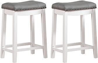 Best white grey bar stools Reviews