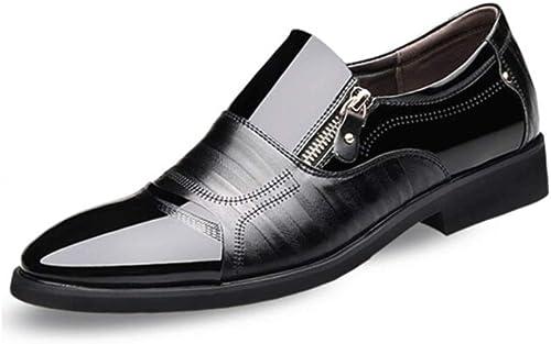 MUZIWENJU Chaussures en Cuir for Hommes, Chaussures de Sport for Hommes, Chaussures de Ville, (2 Couleurs Disponibles)