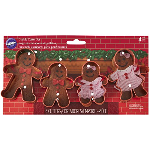 Wilton Gingerbread Family Cookie Cutter Set
