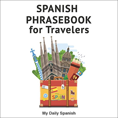 Spanish Phrase Book for Travelers audiobook cover art