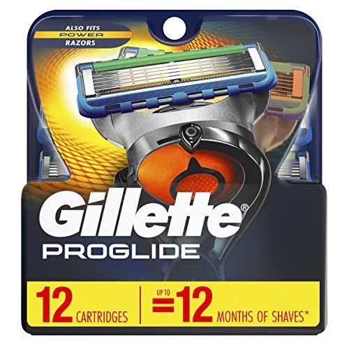 Gillette Fusion5 ProGlide Men's Razor Blades - 12 Refills