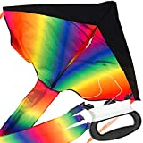 Large Delta Kite / Rainbow Kite (200' of Line)