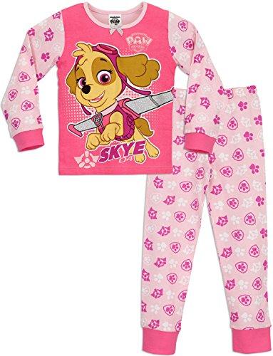 Paw Patrol PAW PATROL Mädchen Schlafanzug Rosa 122