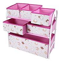 おもちゃの収納ボックス子供おもちゃの収納ボックス子供収納キャビネット強力な支持力ハンガーラック