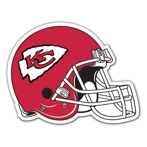 Fremont Die NFL Kansas City Chiefs 12-Inch Vinyl Helmet Magnet