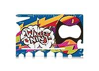 限定版:HIPSTER Wallet Ninja - 18 in 1 クレジットカードサイズ マルチツール (TSA飛行機承認)