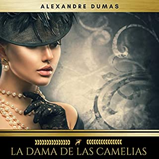 La Dama de las Camelias audiobook cover art