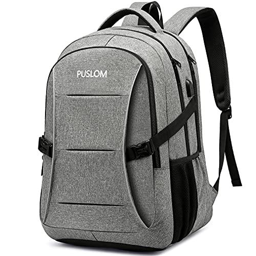 PUSLOM Laptop Backpack,Anti Theft 15.6 inch Travel Laptop Rucksack for Men...