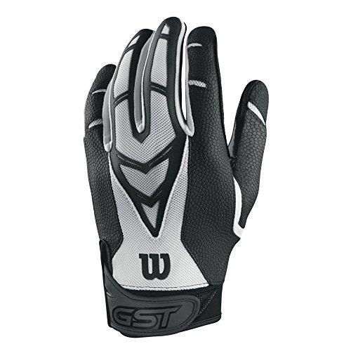 Wilson GST Skill American Football Receiver Handschuhe - weiß Gr. XL