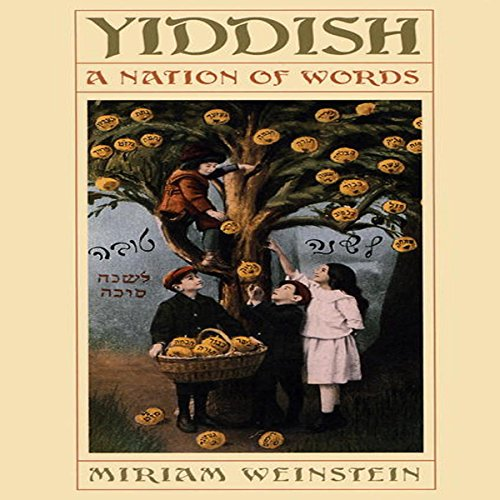 Yiddish audiobook cover art