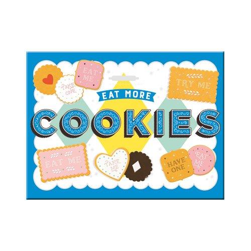 Nostalgic-Art 14357, Home und Country, Wonder Cookies, Magnet 8x6 cm, Kraftmagnet mit Metalloberffläche, Bunt, 8 x 6 x 0.1 cm