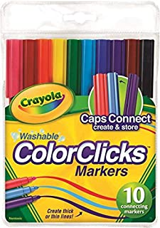 Crayola 10 Ct. Washable Color Clicks Markers, 1 of Piece
