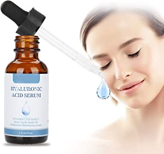 Vitamin C-serum, ansiktsvitaminserum, 30 ml Essence/Moisturizing Facial Hyaluronic Acid Skin Care Bottle