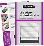 dipos I 2X Schutzfolie klar kompatibel mit Tolino Epos 2 Folie Displayschutzfolie
