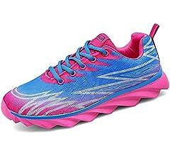 Mujer Zapatillas de Zapatos para Correr en Asfalto Aire Libre y Deportes Running para Fitness Zapatillas Gimnasio: Amazon.es: Zapatos y complementos
