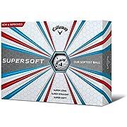 Callaway Supersoft-Golfbälle Einheitsgröße weiß