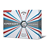 Callaway Supersoft Golf Balls, White, One Dozen (2017/2018 Version)