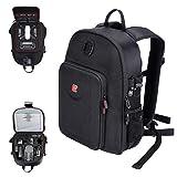 Smatree Travel Backpack for DJI Mavic Pro Fly More Combo/Mavic Platinum/DJI Spark Fly More Combo/GoPro Hero 9/8/7/6/5(Not Fit for Mavic 2 pro/Zoom)