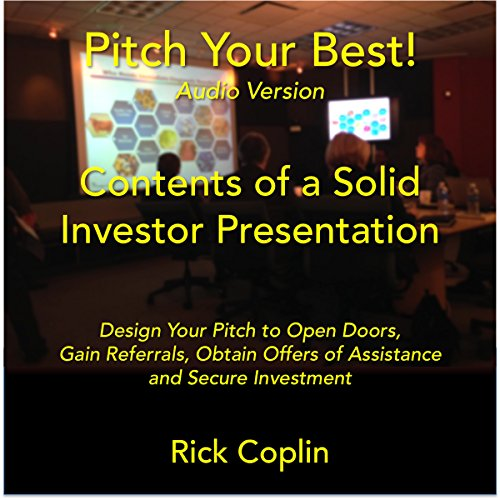 Pitch Your Best! audiobook cover art