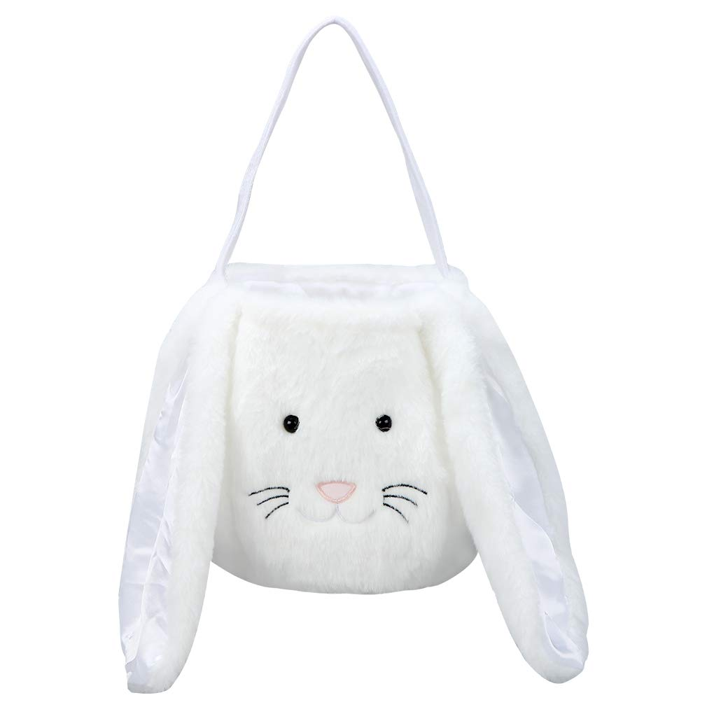 Plush Easter Bunny Basket for safety Buckets wit Boys Girls Kids Seasonal Wrap Introduction