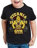 style3 Eternia Fitness T-Shirt für Kinder Crossfit Studio he Universe Man, Größe:104