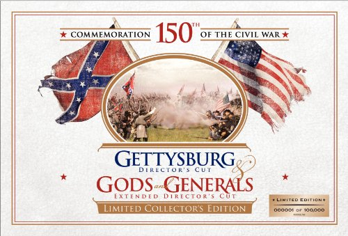 Gettysburg & Gods & Generals (Books, Map, Coin) [DVD] [Region 1] [NTSC] [US Import]