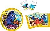 52 Finding Nemo 2 le monde de Dory poissons Set pièces d'anniversaire. (Assiettes, gobelets, serviettes de table)