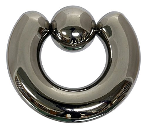 Pain-is-Art Klemmkugelring 9,0 x 19 mm aus 316L Chirurgenstahl - Piercing BCR Ball Closure Ring