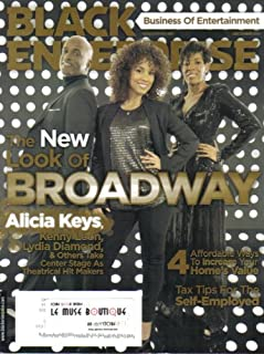 BLACK ENTERPRISE MAGAZINE (December 2011 - Vol. 42/ No. 5) Featuring: ALICIA KEYS + KENNY LEON + LYDIA DIAMOND