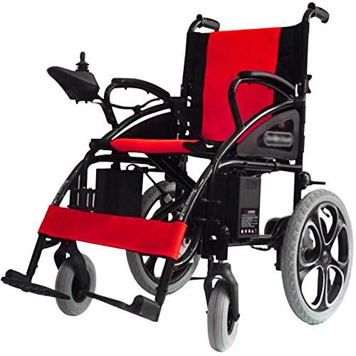 XSARACH elektrische rolstoel, opvouwbaar en eenvoudig te hanteren - Joystick 360 ° voor automatische rolstoelen, breedte 41 cm