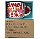 Starbucks Canada Been There Collection Ceramic Coffee Demitasse Ornament 2 Oz