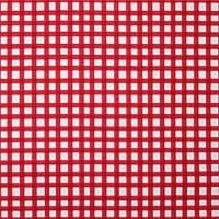 【Loralie Designs】- Chipper Check - 50x110cm レッド系