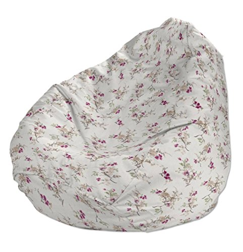 Dekoria Poltrona a sacco Ø80x115 cm grigio-rosa