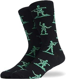 Leezo, Casual Socks, Calcetines y Gorros de algodón Transpirable Antideslizante, Accesorios para Exteriores, Ropa de Deporte para Hombres, pies, Ropa de pies, Ropa de Ropa