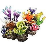 JIEPPTO 1 UNIDS Tanque DE Pescado ROWERY Coral Archive, BOWEFIFICA LA DECURACIÓN DE Acuario, DISEÑO Exquisite Handicraft. (Color : B)