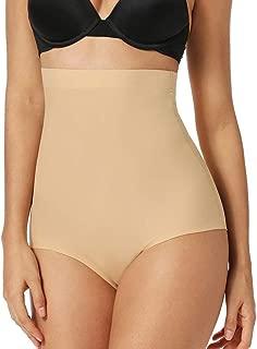 angelana High Waist Brief Shapewear for Women Tummy Control Panties Shaping Girdle Body Shape Underwear