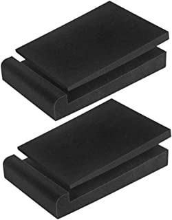 JJZXD Speaker Pads, Isolation Pads,high Density Studio Monitor Foam, Studio Monitor Stand Pads, Speaker Base,28x19x4cm