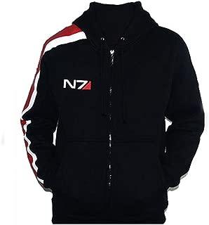 mass effect zip hoodie