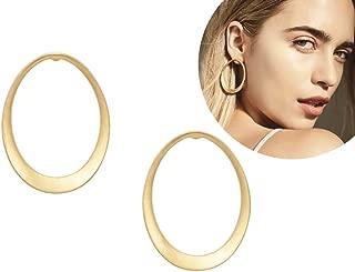 Georgia Hoops Earrings Gold